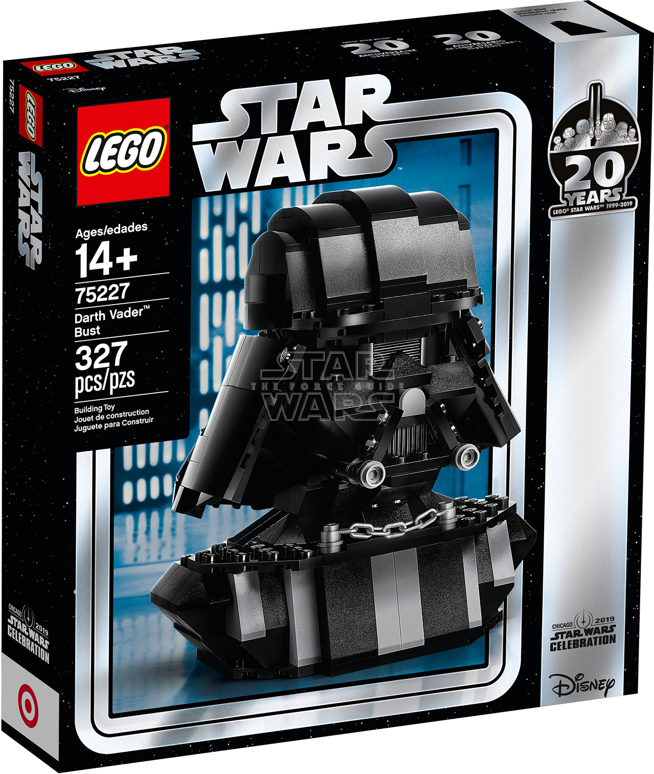 Star Wars Lego 75227 Darth Vader Bust Theforceguidecom