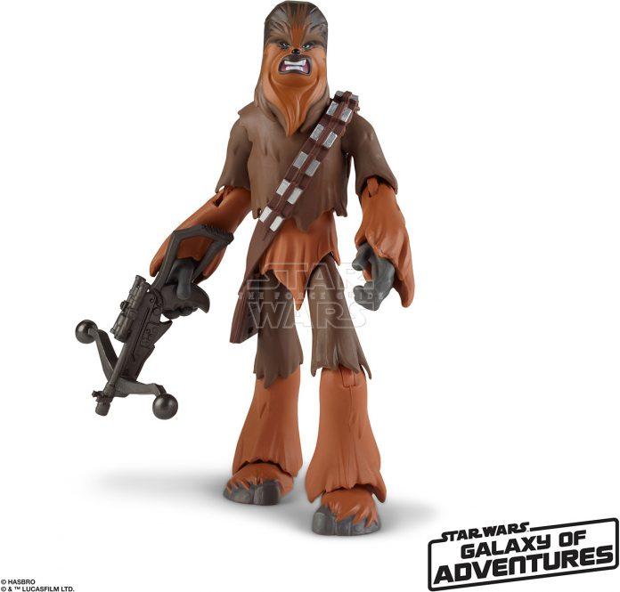 STAR WARS GALAXY OF ADVENTURES 5 INCH Figure Assortment Chewbacca (oop 1)