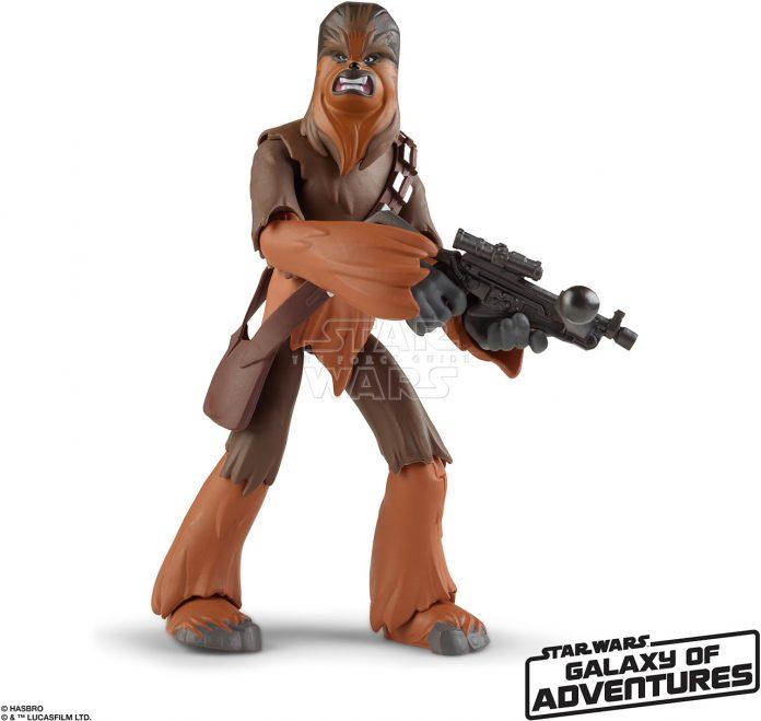 STAR WARS GALAXY OF ADVENTURES 5 INCH Figure Assortment Chewbacca (oop 2)