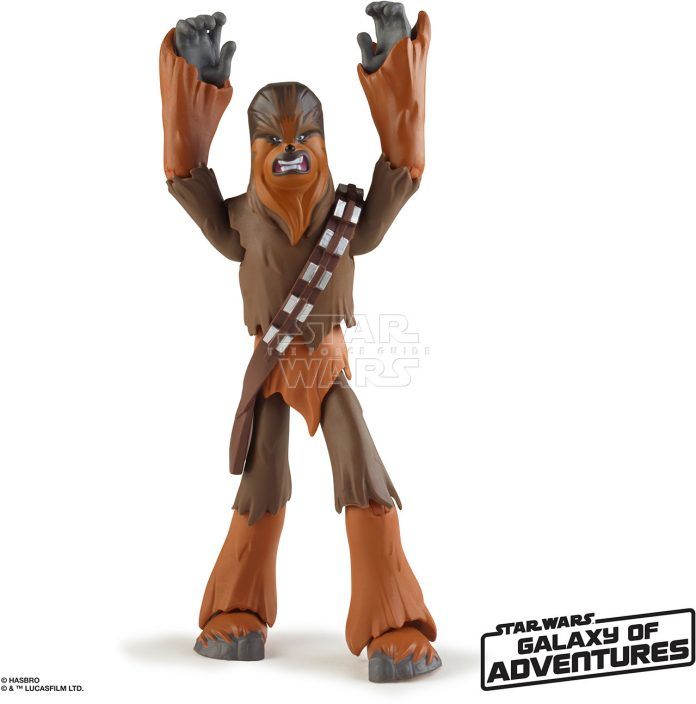 STAR WARS GALAXY OF ADVENTURES 5 INCH Figure Assortment Chewbacca (oop 3)