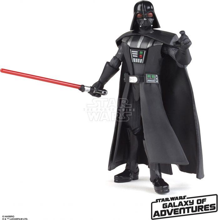 STAR WARS GALAXY OF ADVENTURES 5 INCH Figure Assortment Darth Vader (oop 1)