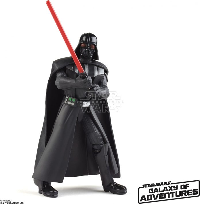 STAR WARS GALAXY OF ADVENTURES 5 INCH Figure Assortment Darth Vader (oop 2)