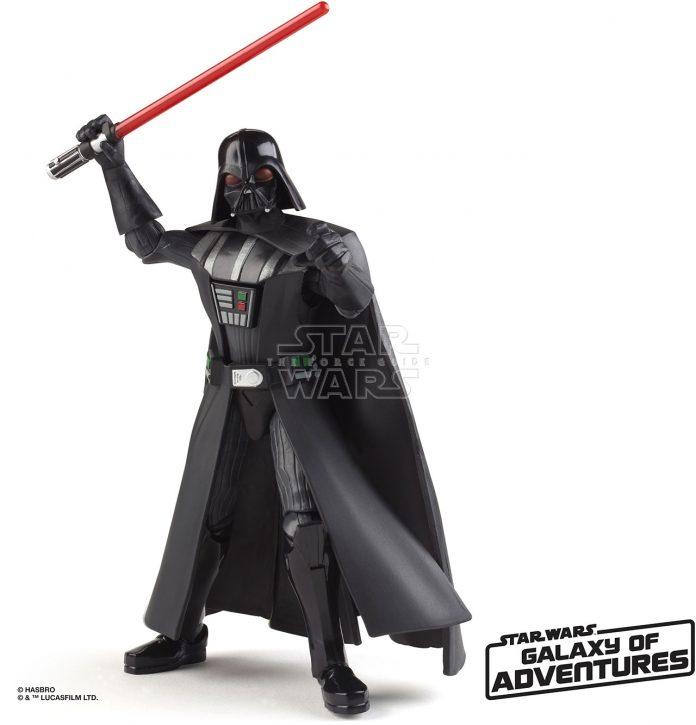 STAR WARS GALAXY OF ADVENTURES 5 INCH Figure Assortment Darth Vader (oop 3)