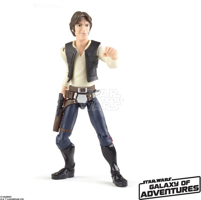 STAR WARS GALAXY OF ADVENTURES 5 INCH Figure Assortment Han Solo (oop 3)