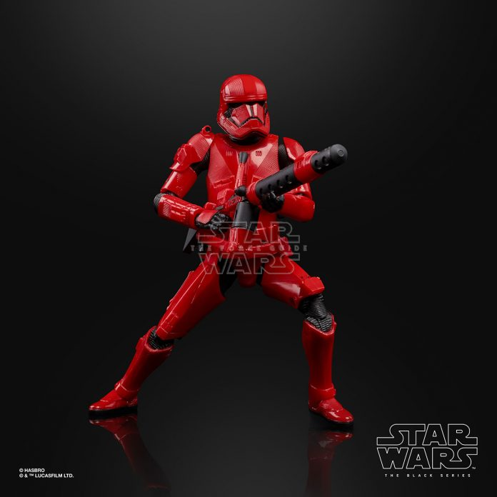 STAR WARS THE BLACK SERIES 6 INCH SITH TROOPER Figure Oop (2)