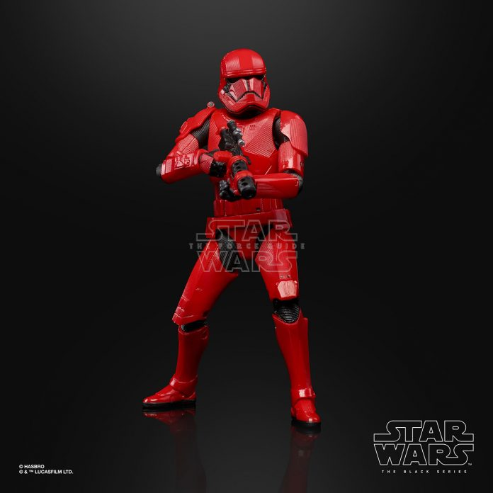STAR WARS THE BLACK SERIES 6 INCH SITH TROOPER Figure Oop (3)