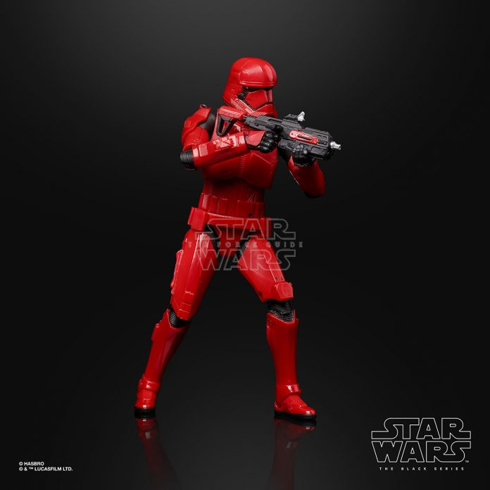 STAR WARS THE BLACK SERIES 6 INCH SITH TROOPER Figure Oop (5)