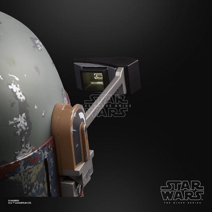STAR WARS THE BLACK SERIES BOBA FETT ELECTRONIC HELMET Oop (2)