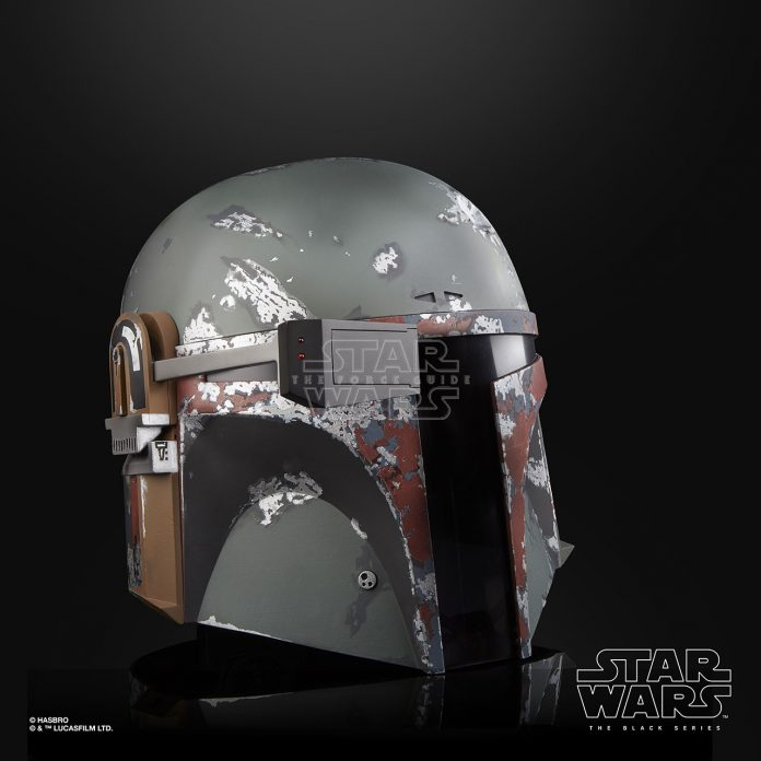 STAR WARS THE BLACK SERIES BOBA FETT ELECTRONIC HELMET Oop (3)