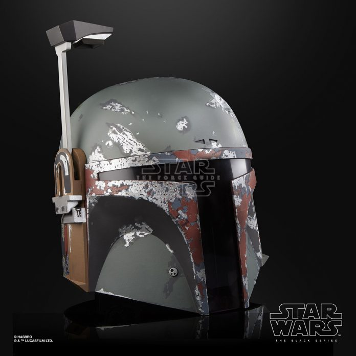 STAR WARS THE BLACK SERIES BOBA FETT ELECTRONIC HELMET Oop (4)