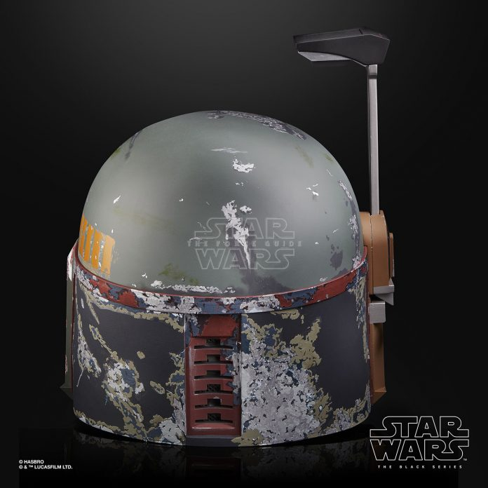 STAR WARS THE BLACK SERIES BOBA FETT ELECTRONIC HELMET Oop (5)