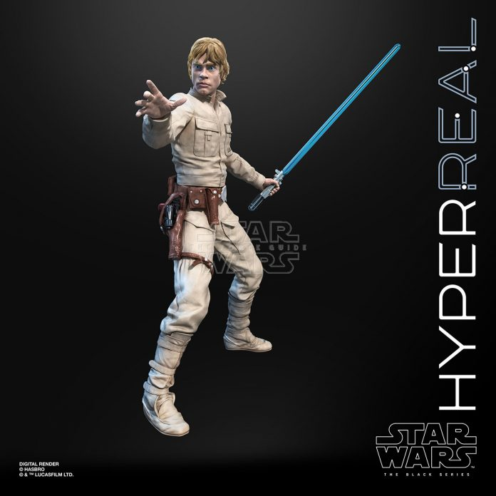 STAR WARS THE BLACK SERIES HYPERREAL LUKE SKYWALKER Oop (1)