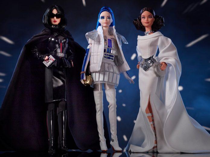 Mattel Star Wars Barbies