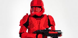 Lego Sith Trooper Tall