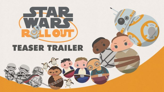 STAR WARS ROLL OUT, AN ADORABLE NEW SERIES OF ANIMATED SHORTS, BOUNCES TO THE SCREEN